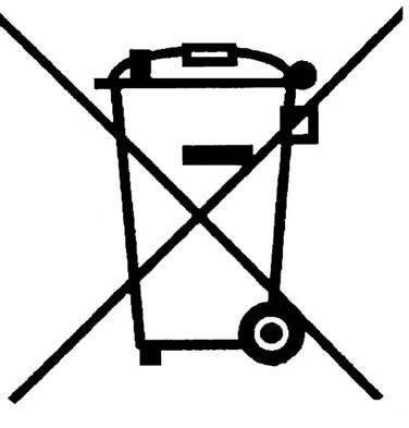 Nie wyrzucaj zużytego sprzętu elektrycznego