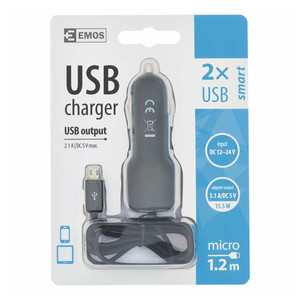 ZASILACZ SAM.USB K. SMART 3.1A