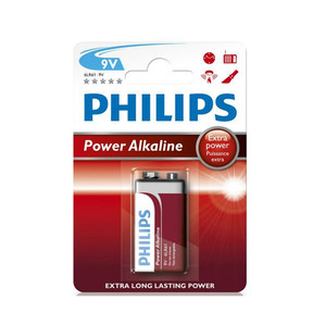 Bateria 6LR61 Philips Power 9V Blister 1szt